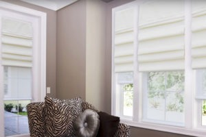 Centerpiece™ Roman Shades from Norman®
